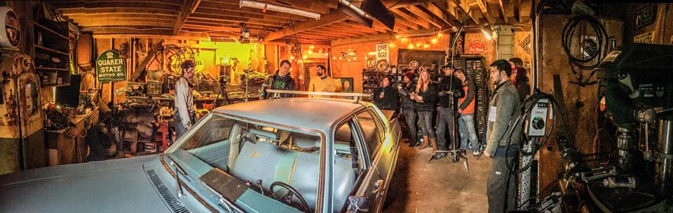 High Beam Movie BTS Photo by Doug Vojtko