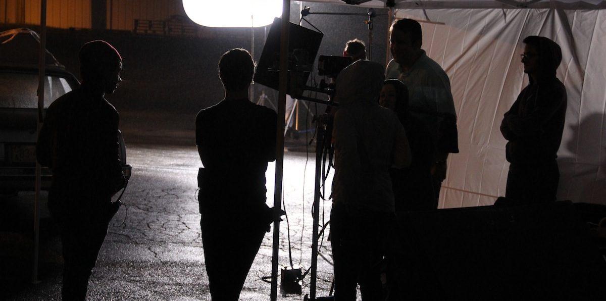 High Beam Crew on Set
